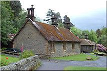 NU0702 : Cottages on Cragside estate by Andy F