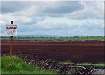 N4824 : Peat extraction south of Daingean, Co. Offaly by Dylan Moore