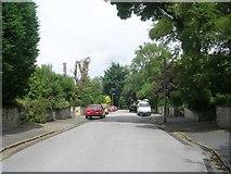 SE0823 : Heath Avenue - Manor Heath Road by Betty Longbottom