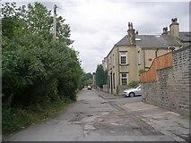 SE0824 : Heath Street - Free School Lane by Betty Longbottom