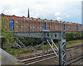 SJ8890 : London and North Western Railway Company's Goods Warehouse by Gerald England