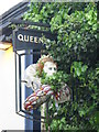 NZ2564 : Sign for The Queen's Arms, Simpson Terrace by Mike Quinn