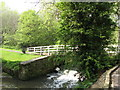 NZ2665 : Footbridge over the Ouse Burn in Jesmond Vale by Mike Quinn