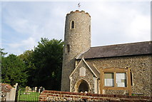 TG1807 : Tower, St Andrew's Church, Colney by N Chadwick