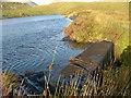 NM8465 : Lochan north of Bellsgrove Loch by Richard Laybourne