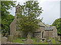 NY9913 : St Giles' Church in Bowes by wfmillar