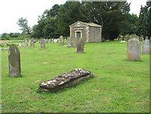 TM1994 : St Mary's church - churchyard by Evelyn Simak