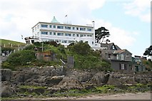 SX6443 : Burgh Island Hotel by Tony Atkin