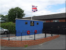 J3574 : Ulster Defence Association Memorial, Newtownards Road by Dean Molyneaux