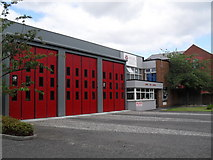 J3774 : Knock Fire Station by Dean Molyneaux