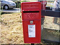 TM3570 : Little Pouys Street Postbox by Adrian Cable