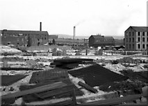 SD8913 : Redevelopment in Falinge, Rochdale, Lancashire by Dr Neil Clifton