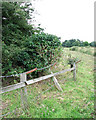 TG1700 : Perimeter fence around Hethel Old Thorn by Evelyn Simak