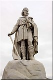 SU3987 : Statue of King Alfred in Wantage Market Square by Steve Daniels