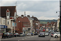 TQ1649 : High Street, Dorking, Surrey by Peter Trimming