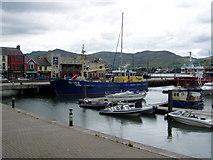 J1418 : Warrenpoint harbour by HENRY CLARK
