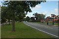 SJ5114 : Sundorne Road beside the Coracle Inn by Row17