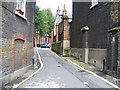 TQ3082 : Henrietta Mews Camden by PAUL FARMER