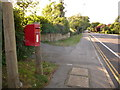 SZ0094 : Broadstone: postbox № BH18 122, Lower Blandford Road by Chris Downer