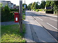 SZ0096 : Broadstone: postbox № BH18 43, Higher Blandford Road by Chris Downer