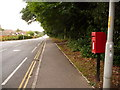 SZ0095 : Broadstone: postbox № BH18 83, Lower Blandford Road by Chris Downer