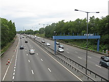 SO9999 : M6 North At Churchill Road by Peter Whatley