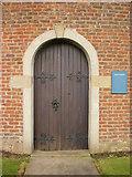 SD4520 : St Mary's, Tarleton, Doorway by Alexander P Kapp