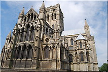 TG2208 : Roman Catholic Cathedral, Norwich (2) by N Chadwick