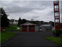 J2053 : Dromore Fire Station by Dean Molyneaux