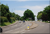 TG1807 : Traffic lights at the entrance to Norwich Research Park by N Chadwick