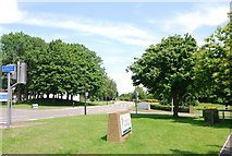 TG1807 : Entrance to Norwich Research Park by N Chadwick