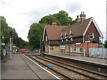TQ2151 : Betchworth station buildings by Stephen Craven