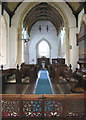 TM2887 : St Mary's church - view west by Evelyn Simak