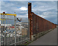 J3574 : Wall, Sydenham Road by Rossographer