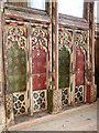 TM2290 : St Margaret's church - rood screen panels by Evelyn Simak