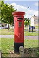 SU4712 : Pillar Box, Ellwood Avenue, Thornhill by Peter Facey