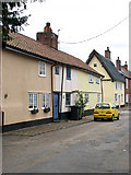 TM0890 : Cottages in Boosey's Lane by Evelyn Simak