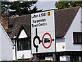 TL1313 : Roadsign on the A1081 St.Albans Road by Adrian Cable