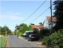 TQ7575 : Main Road, Cooling by Chris Whippet