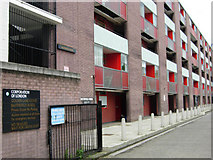 TQ3282 : Basterfield House, Golden Lane Estate by Stephen McKay