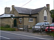 TM3464 : Rendham Village Hall by Adrian Cable