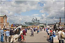 SU6200 : Portsmouth Historic Dockyard by Peter Facey