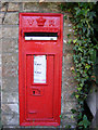 TM3561 : Low Street Victorian Postbox by Geographer