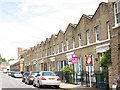 TQ3378 : Terraced houses in Pages Walk, Bermondsey by Stephen Craven
