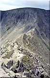 NY3415 : Helvellyn from Striding Edge by Derek Voller