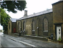 SE1223 : Former National School, Church Lane, Southowram by Alexander P Kapp