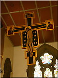 SE1223 : The Parish Church of St Anne in the Grove, Southowram, Rood cross by Alexander P Kapp