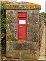 ST8117 : Marnhull: postbox № DT10 6, Lushes by Chris Downer