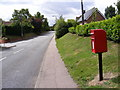 TM3863 : B1119 Rendham Road & Rendham Postbox by Adrian Cable