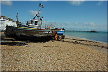 TR3752 : Boat on the beach, Deal by Philip Halling